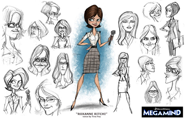 Character Design Dreamworks : Dreamworks animation megamind on behance