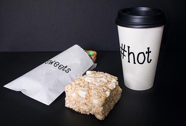 dessert sweet pattern social media chocolate hashtag pastry minimal black White shop restaurant bakery