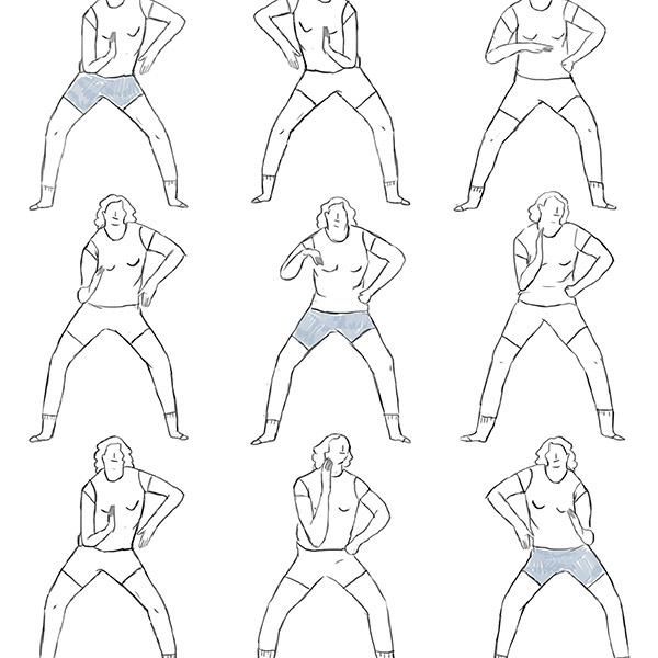 gif sketching gesture body language movement sequence