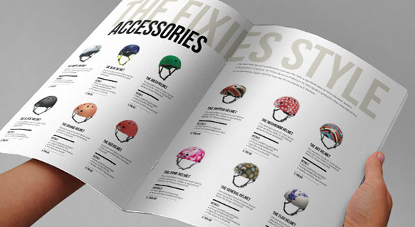 the fixies indesign product catalogue template on behance