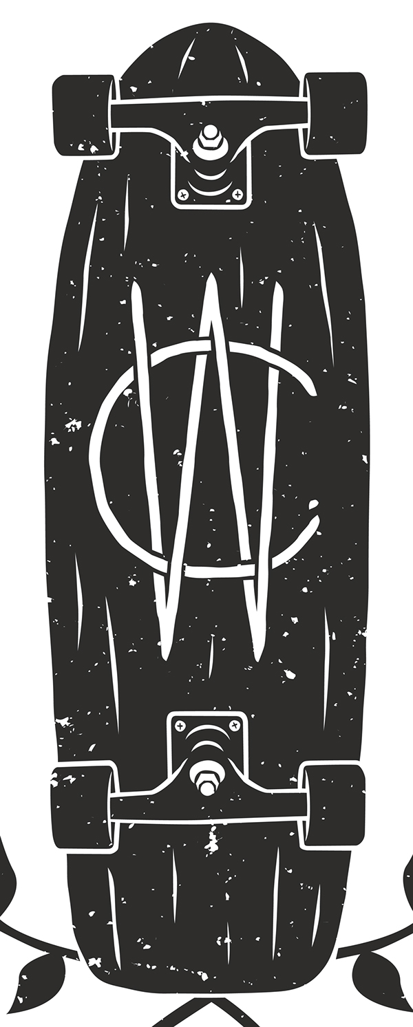 concrete wave skateshop shirt design on behance. Black Bedroom Furniture Sets. Home Design Ideas