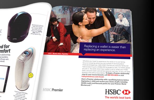 HSBC Premier Summer on Behance