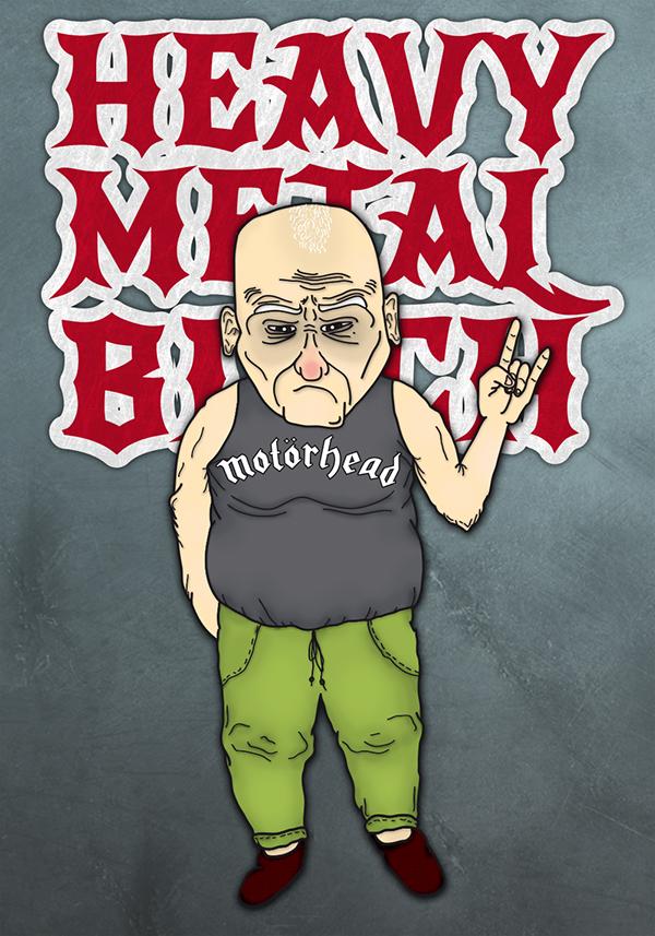 old man comic