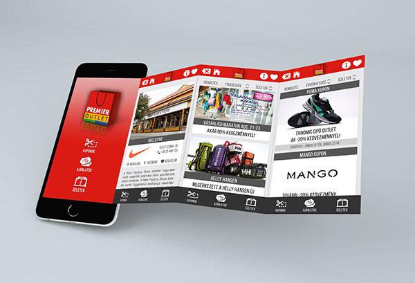Premier Outlet Mobil Application design