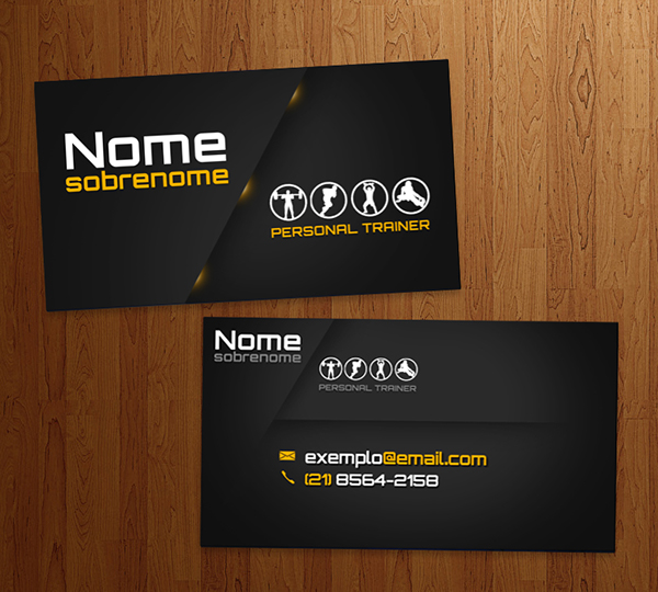 Business Card Personal Trainer on Behance