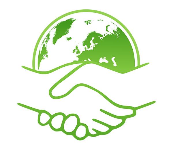 Green Handshake project on Behance