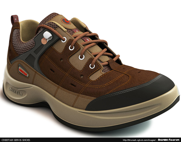 94358454cea7 Servis Cheetah Shoes on Behance