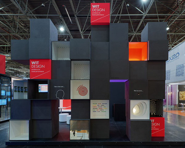 Modern Exhibition Booth Design : Stand wit design euroshop on behance