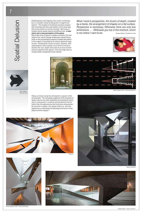 Interior design thesis paper