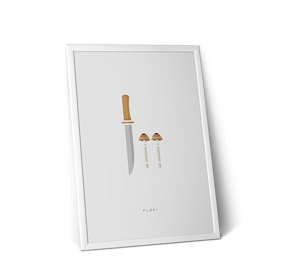 Minimalist Classroom Login ~ Vikings s minimalist posters on student show