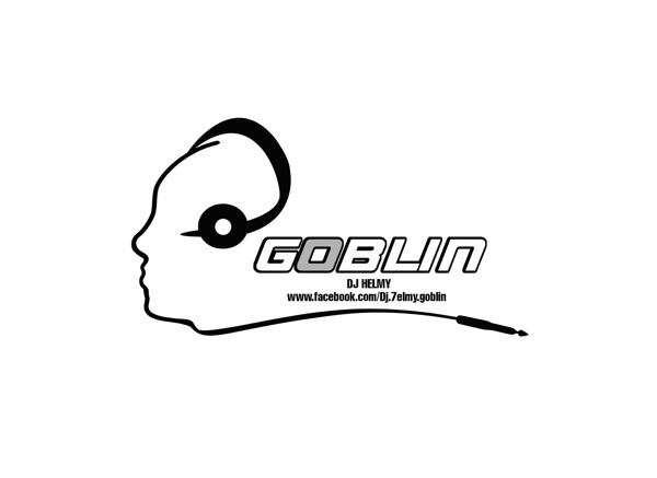 Tableau logo dj, mélanger, mixer, musique électronique • Posters et