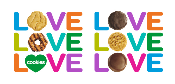LOVE Girl Scout Cookies - ABC Bakers on Behance
