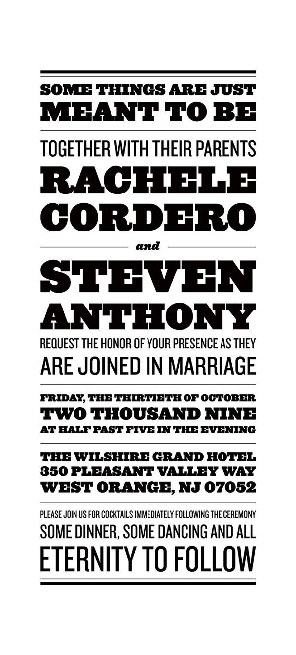 wedding design invitations 3D