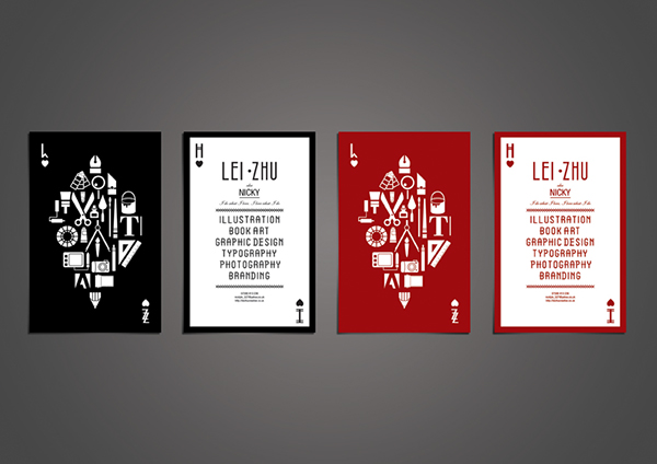 Self promotion i am a magician on behance poker business cards colourmoves