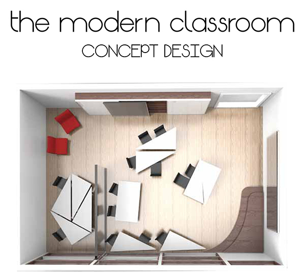 Modern University Classroom Design : The modern classroom concept design on behance