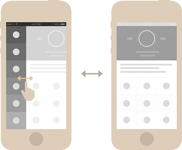 Social app app ui gold ui Application Design app app concept iphone network social media univit