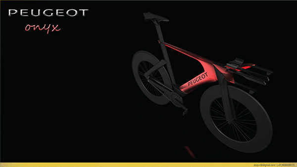 peugeot onyx bike on behance