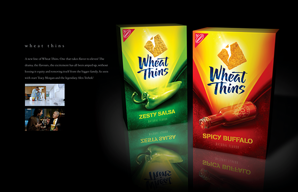 Wheat Thins Bold on Behance | 600 x 387 png 199kB