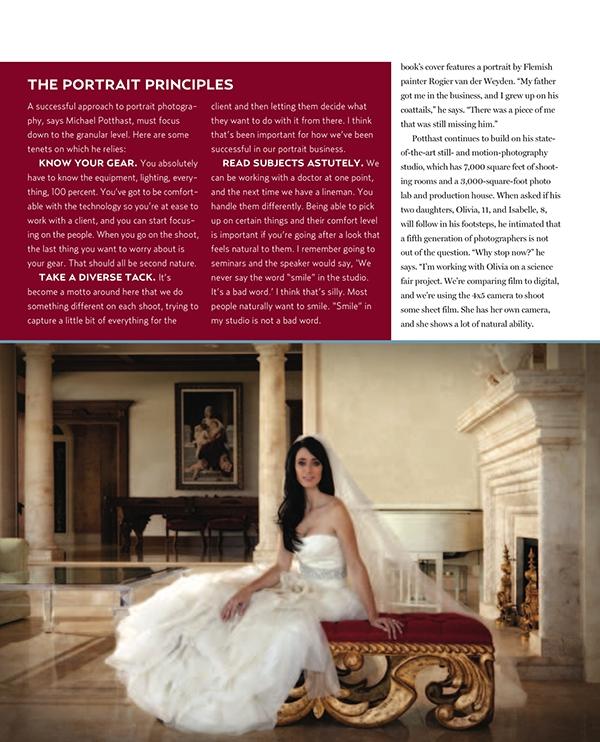 mike potthast portraits interviewing magazine profile