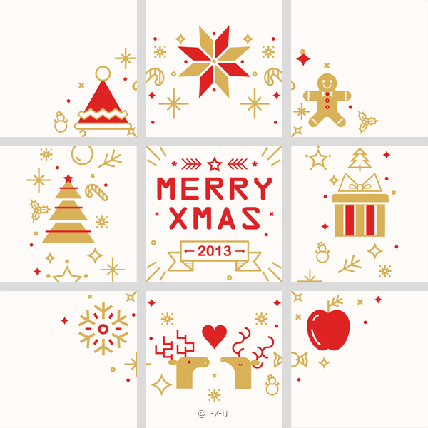 細緻的19套聖誕節插圖欣賞
