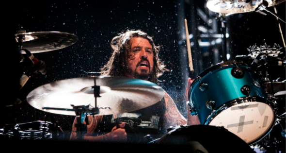 dave grohl poster on behance