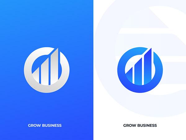 Business Marketing Modern Logo   Modern Logo 2020