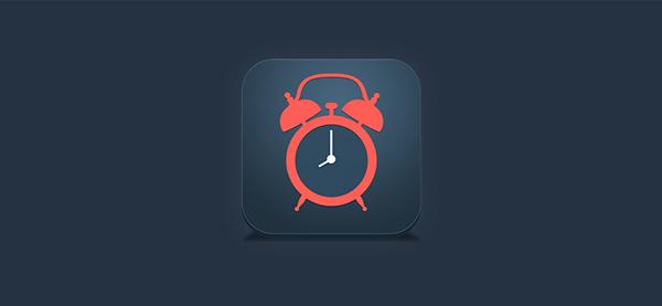 app iphone mac ios Interface soft alarm Icon design UI ux
