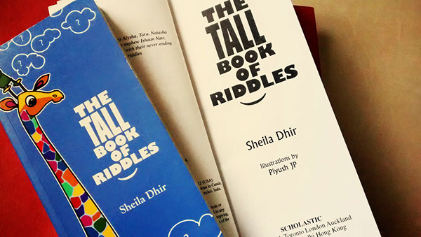 THE TALL BOOK OF RIDDLES on Wacom Gallery