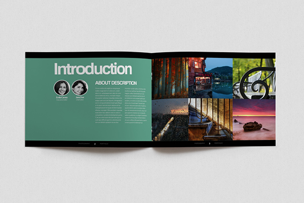 indesign portfolio template v 01 on behance