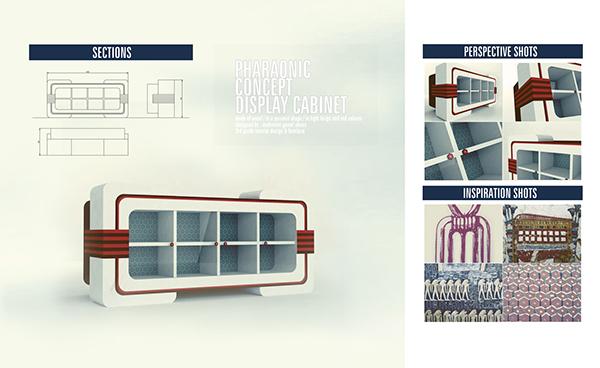 Egyptian Inspired Furniture Design On Behance