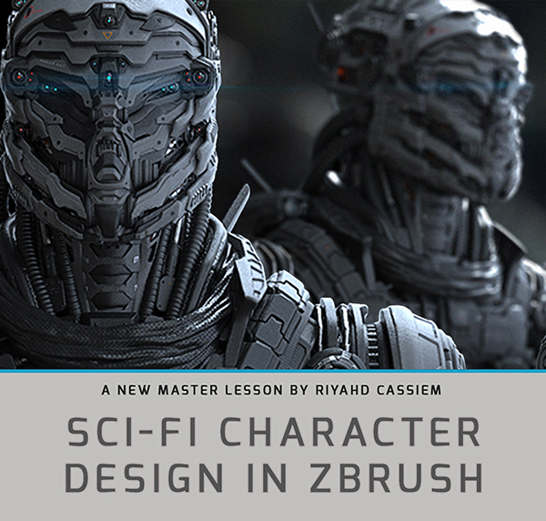Sci Fi Character Design Tutorial : Sci fi character design in zbrush trailer on behance