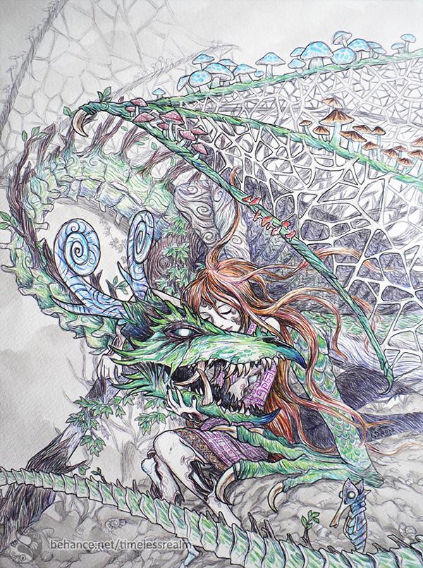 nidhogg dragon norse - 600×805