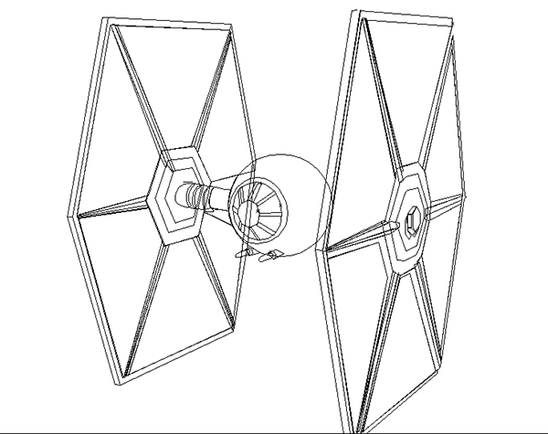 Learn How To Draw Tie Fighter From Star Wars