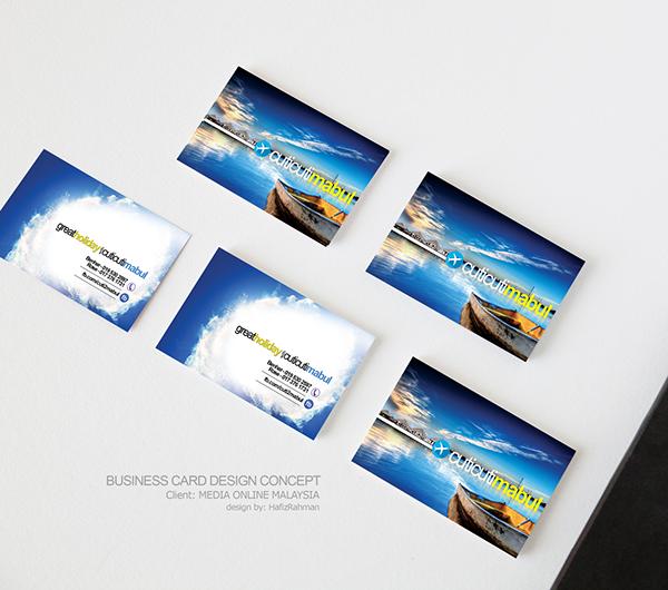 business card portfolio on behance