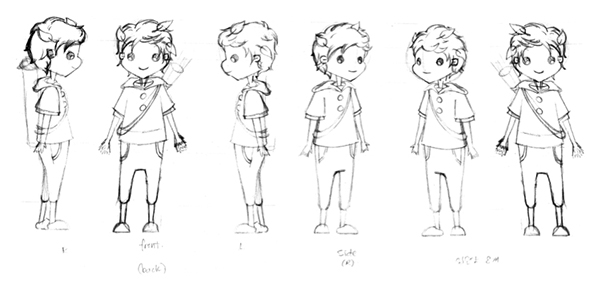 Character Design Little Boy : Character design boy on behance