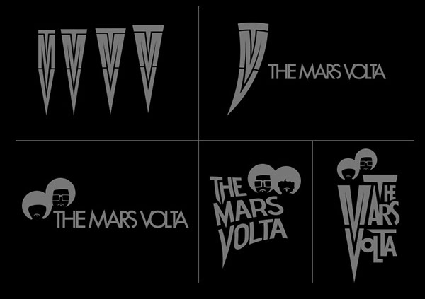 the mars volta logo design music band