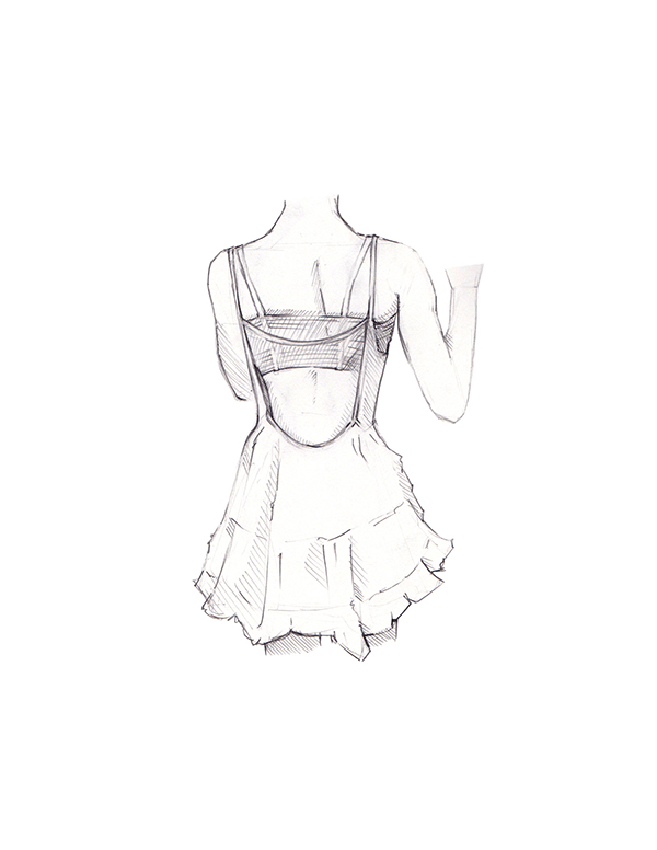 2015 Fashion Sketches On Student Show