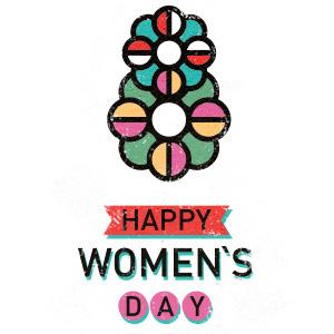 8 March. International Women's Day. Poster on Behance