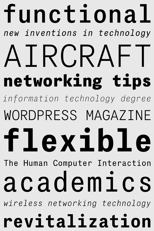 das grotesk grotesk Typeface font grotesk typefaces Parachute specimen multilingual greek Latin Mono monospaced Cyrillic Panos Vassiliou modern