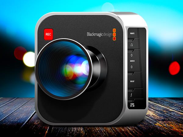 buttons Magic   blackmagic modern lens camera photo logo Shadows lights reflections Icon ios
