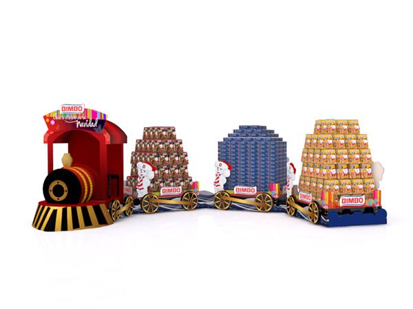 Tren Navidad Bimbo 2013 on Behance