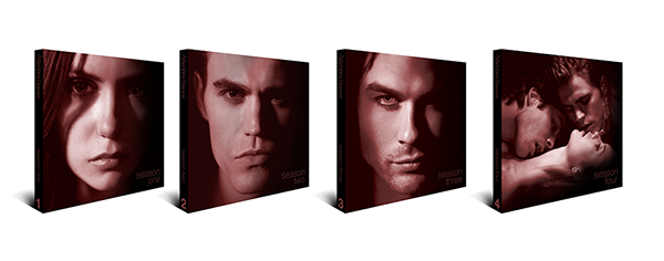 vampire diaries cw WB warner brothers warner bros DVD special edition collector's edition package vampire dark romance fantasy dream