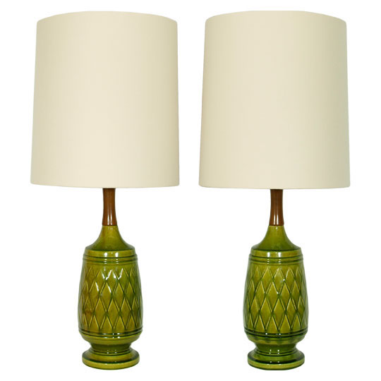 Retro Table Lamps : The ellington twins restyled vintage table lamps on behance
