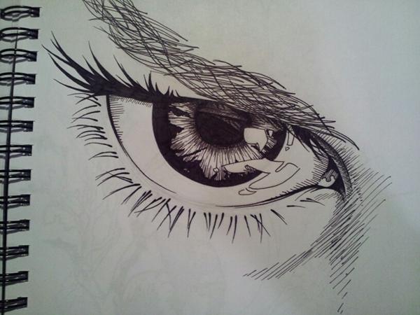 細緻的24款手繪眼睛欣賞