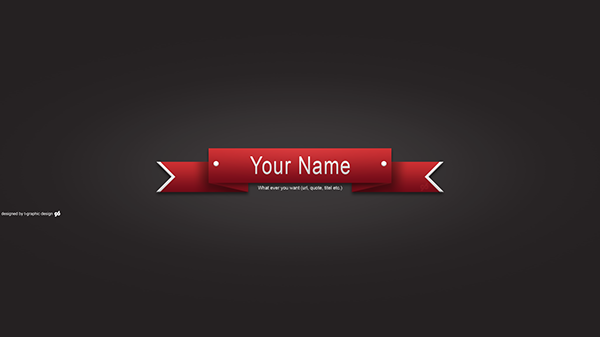 youtube banner template on behance