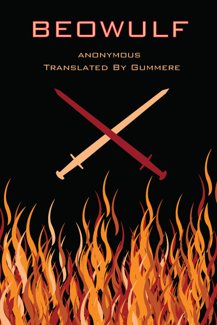 Book Cover Design Description : Beowulf book cover design on behance