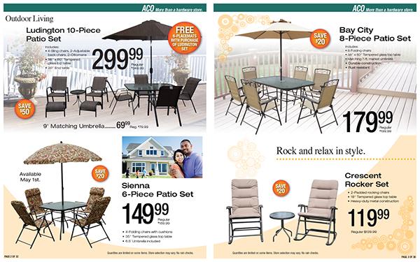 outdoor furniture catalog on behance