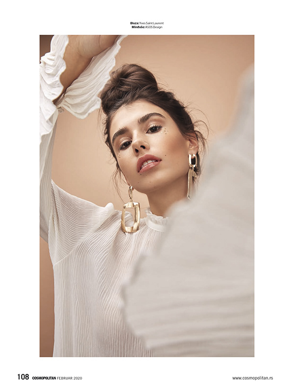 "Cosmopolitan Serbia February 2020 - ""Silk and Soft"""