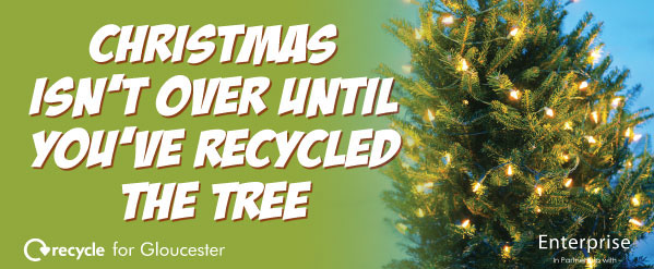 Christmas Tree Recycling Gloucester : Recycling campaigns on behance