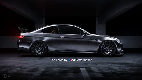 BMW E92 M3 GTS   CGI